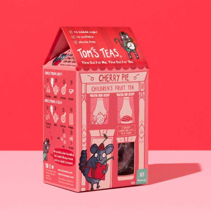 Children's Fruit Tea - Cherry Pie (Cherry Chinchilla)