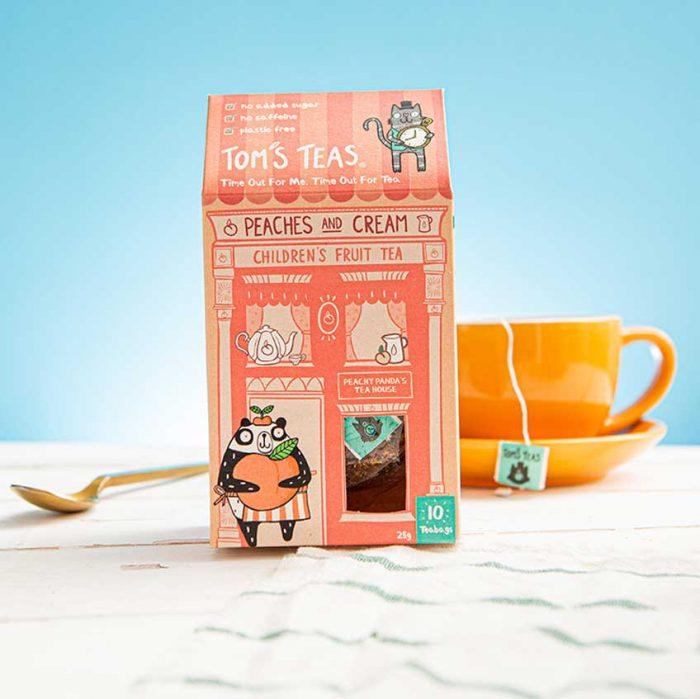 Children's Fruit Tea - Peaches and Cream
