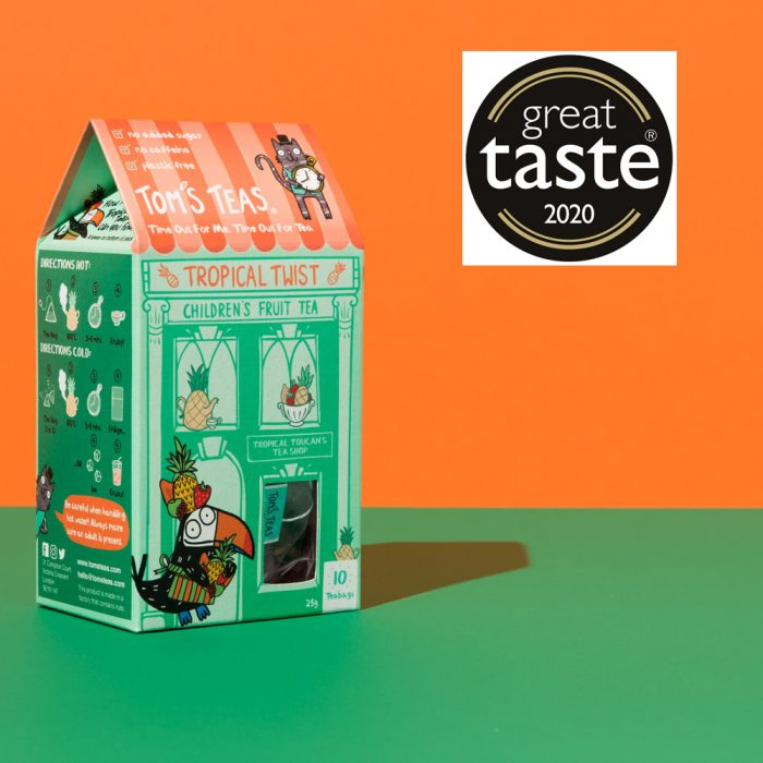 Children's Fruit Tea - Tropical Twist (Great Taste Award)