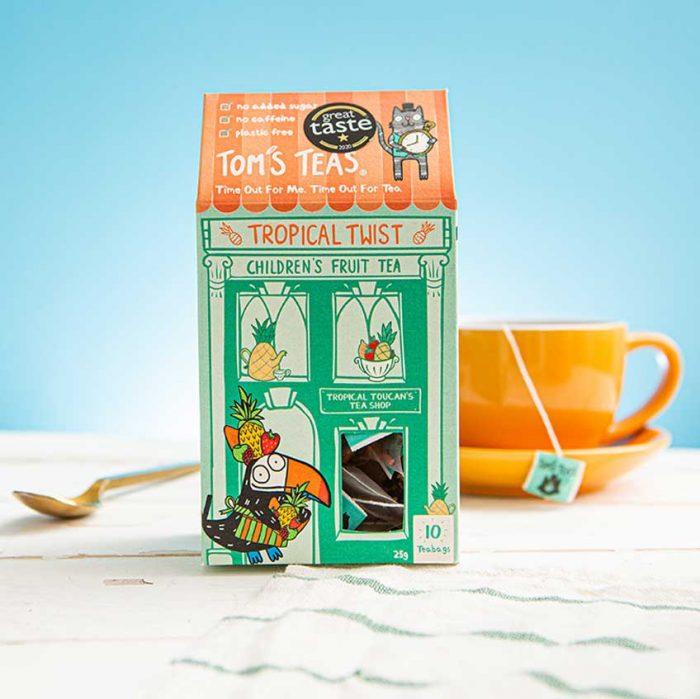 Children's Fruit Tea - Tropical Twist (Great Taste Award)