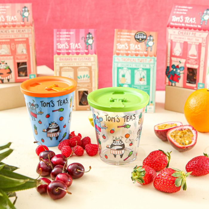 Tom's Teas - Healthy Kid's Drinks